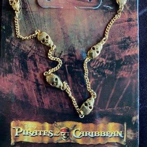 Disney Pirates of the Caribbean Skull Necklace